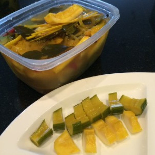Thai Inspired Refrigerator Pickles
