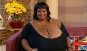 worlds largest boobs