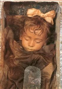 capuchin mummy
