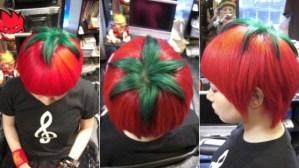 tomato haircut