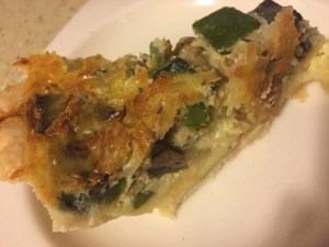Grilled Veggie Quiche