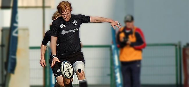 Rory Scholes features as one of Ulster's stand out players in their Inter Pro Grand Slam.
