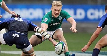 Stuart Olding steps up for his final year in the U20's