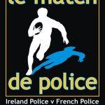 Club: Le service de police de rugby jouer demain