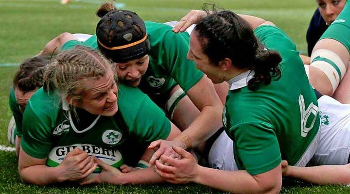 The irrepressible Claire Molloy gets our vote as Ireland's player of the tournament.