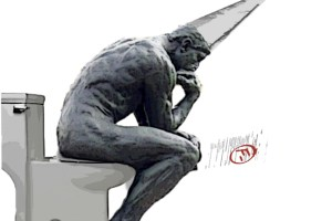 thinker - dunce