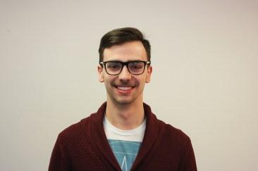 Tanner Tallon, candidate, vice-president of finance. Photo: Graham Robertson.