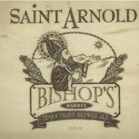 Saint Arnold Bishop's Barrel No. 7 Release July 28, 2014