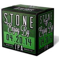Stone Brewing Co. Releases Devastatingly Dank Stone Enjoy By 04.20.14 IPA