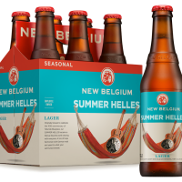New Belgium's Latest Seasonal Release - Summer Helles