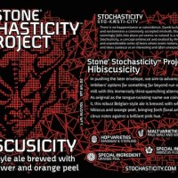 Stone Brewing Co. Stochasticity Project Beer: Hibiscusicity Debuts