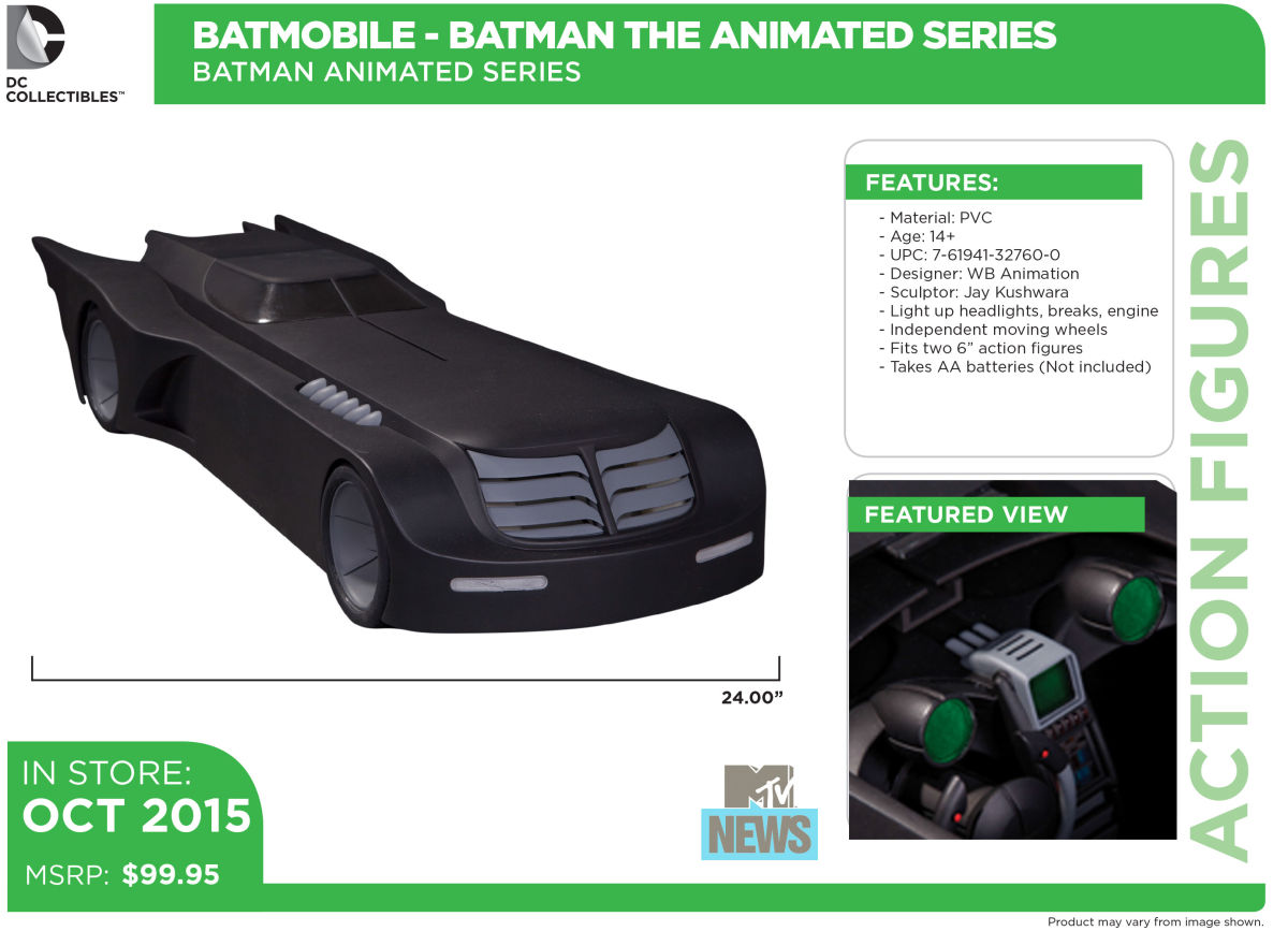 The Figures of DC Comics. - Page 2 DC-Collectible-Batman-the-Animated-Series-Batmobile