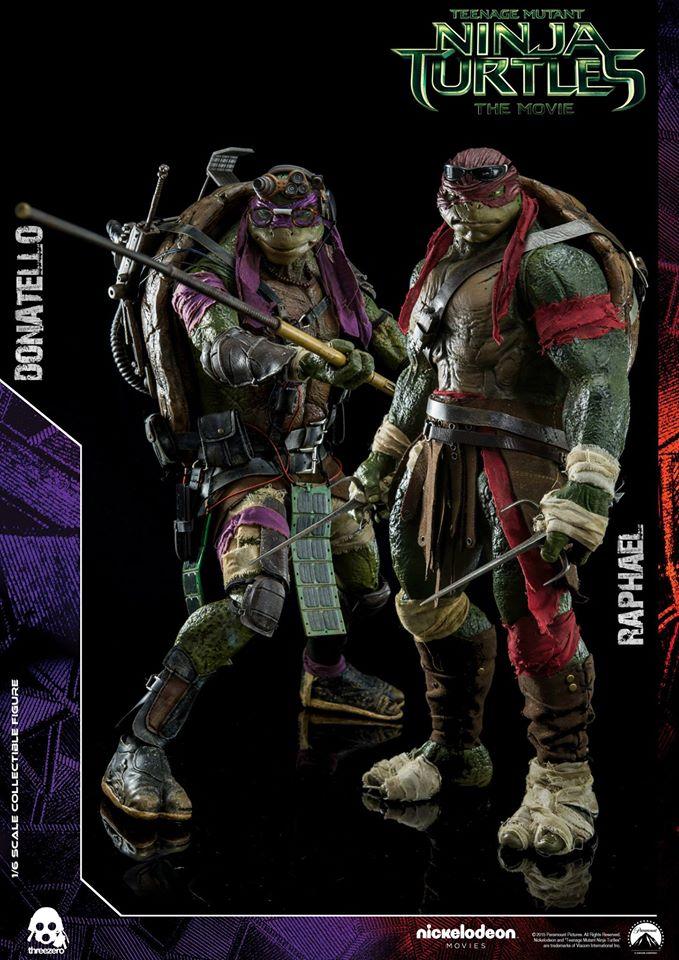 Teenage Mutant Ninja Turtles Figures Leonardo Donatello