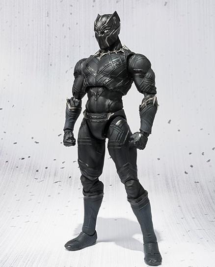 Bandai sh figuarts avengers captain america civil war black panther