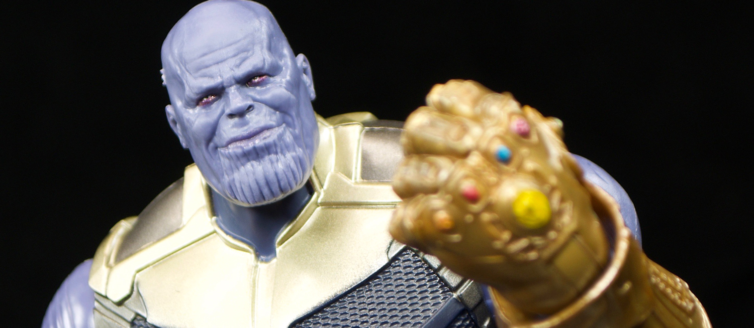 Hasbro  Marvel Legends Avengers  Infinity War Thanos   The Fwoosh Much like formula of the Marvel Cinematic Universe  we have made you wait  for THANOS  but again  like the MCU  he is finally here