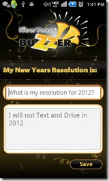 New year resolution iPhone apps Android apps 2012