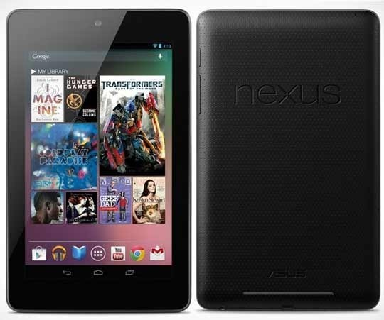 Nexus 7 Google Nexus 7 Android tablet