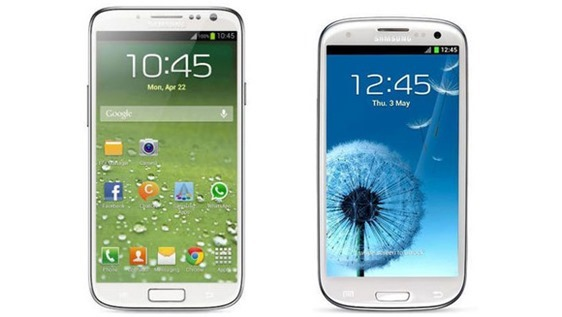 Samsung Galaxy S4 vs S3 new mobile launch Galaxy S4 Galaxy S3