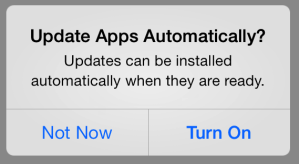 Is The App Auto-Update Feature In iOS7 Leading To Reduced App Discovery