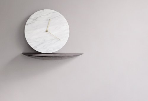 Dark Marble Wall Clock By Menu Marble Wall Clock By Menu Gadget Flow Wall Clock Gadget Windows Xp
