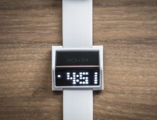 Beauteous Femr Triq A Digital Watch Femr Triq A Digital Watch Gadget Flow Digital Clocks