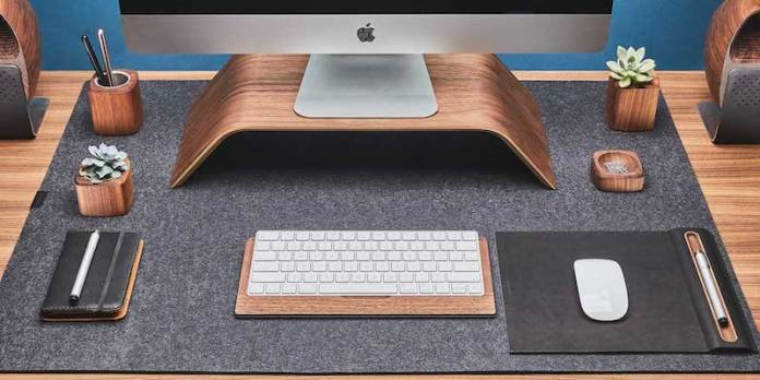 Grovemade Wool Felt Desk Pad
