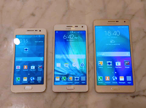 Samsung SM-A310, SM-A510 and SM-A710: Samsung Galaxy A3, A5 and A7 Successors spotted on Benchmark Listing