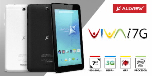 Allview Viva i7G voice calling tablet with Intel SoPHIA 3G-R processor and Android 5.1