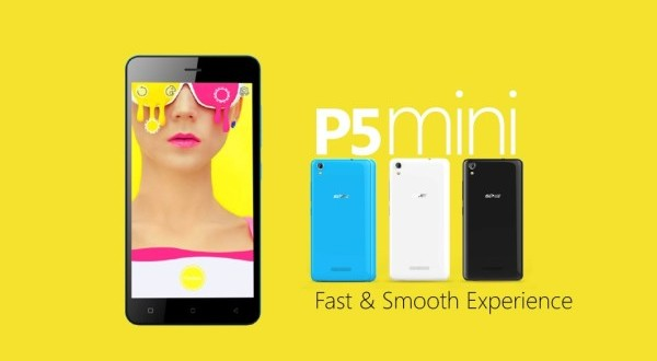 Gionee P5 Mini with 4.5-inch display, 1GB RAM and 1800mAh Battery