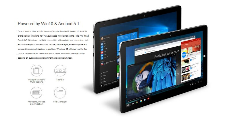 Chuwi Hi10 Pro 10.1 inch 2 in 1 tablet with Stylus Pen ...