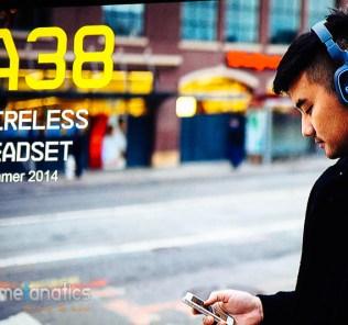 A38 Bluetooth Headset
