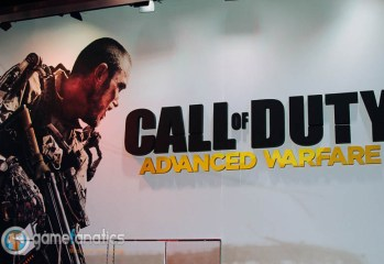 Call of Duty Advanced Warfare Sign E3 2014 The Game Fanatics