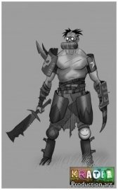 krater art 4 300x482 A New Kreation! Meet Krater, a Post Apocalyptic Kraft and Kombat Game