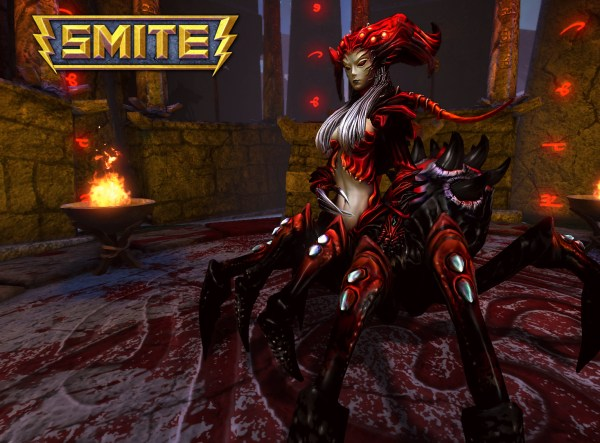 Arachne Red 600x443 Hi Rez Studios Gives Us One Hell of a Game in Smite