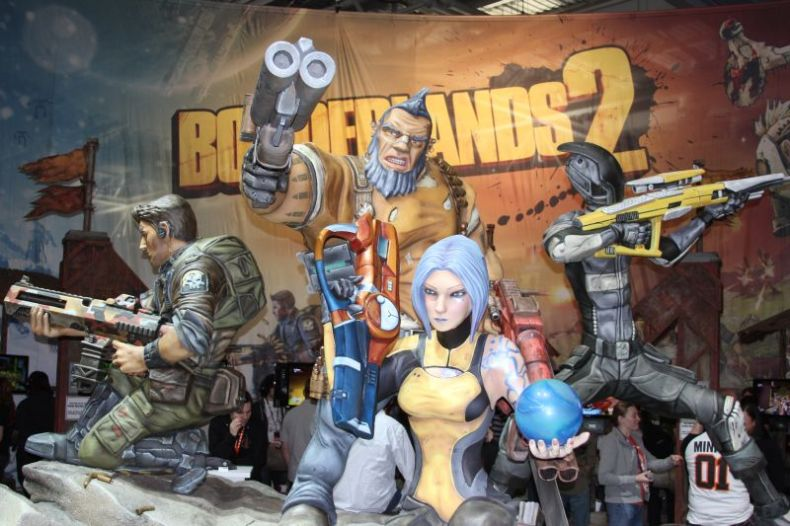 Borderlands 2 Characters PAX East 2012
