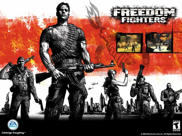 Freedom Fighters 600x450 Fanatical Five: Top 5 Patriotic American Games