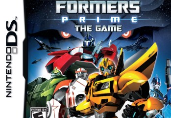 Transformers Prime - DS Box Art-FOB