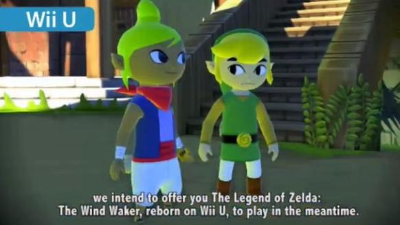 Wind Waker HD1 600x338 Nintendo Announces Wind Waker HD, New Yoshi Title, More For Wii U