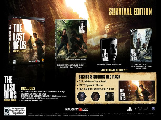 survivaledition The Last of Us Special Editions Announced for Europe and North America
