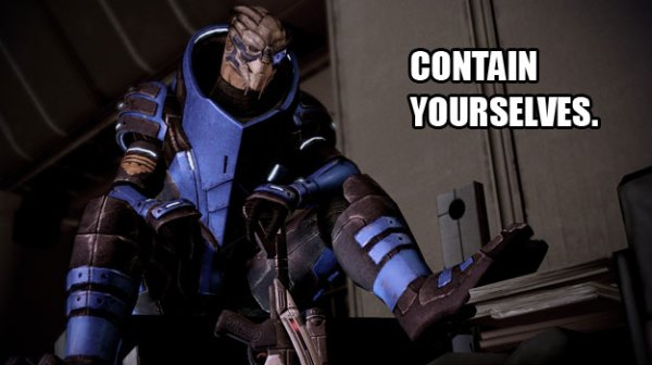 GARRUS 600x336 Fanatical 5 Game Characters With Whom We Fell In Love
