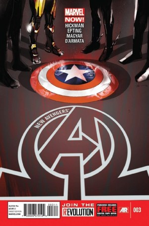 new avengers 3 300x455 The Comic Fanatic   Week of 2/6: Scarlet, Fearless Defenders, Avengers, Star Wars, Robin
