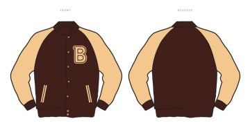 Jacket 600x308 Insert Coin Clothings New Spring Line Featuring Konami, Capcom and Hotline Miami