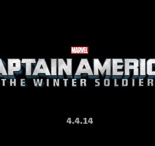 Captain America 2 Official Title Treatment