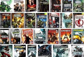 Tom Clancy Video Games