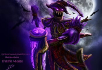 J Santamaria Carpio's Fiddlesticks Dark Mage