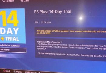 PlayStation Plus exploit yields free membership time