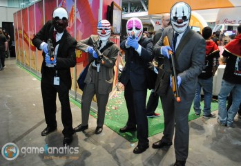 PAX East 2014 - Payday Cosplay (1)