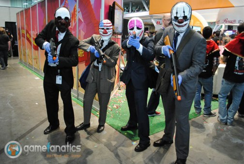 PAX East 2014 Payday Cosplay 1 700x469 PAX East 2014 | Game Fanatics PAX East Cosplay Roundup