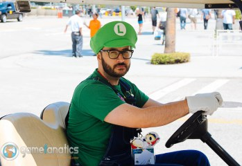 Death Stare Luigi  E3 2014 The Game Fanatics (2)