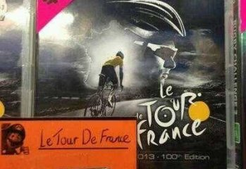 Le Tour De France Video Game Store Sticker Ever